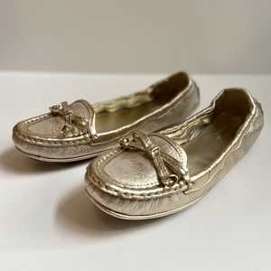 Coach Isabelle leather driving loafer 6M